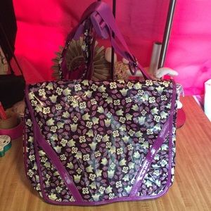 Vera Bradley laptop crossbody bag